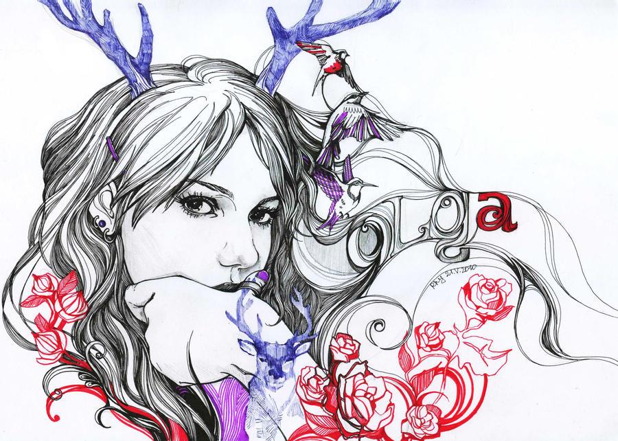 My portrait by MaestraRhy