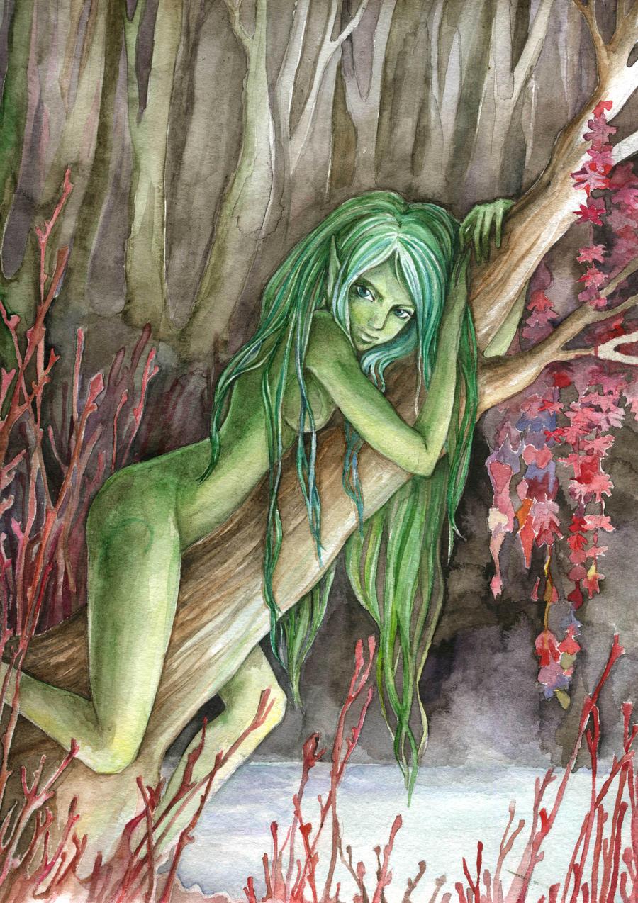 Wood nymph by MaestraRhy