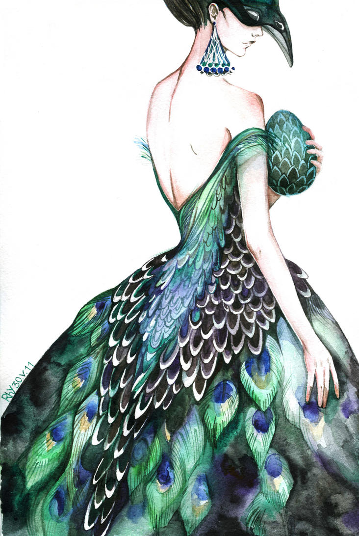 peacock 2.0 by MaestraRhy on DeviantArtDrawings Of Outfits Tumblr