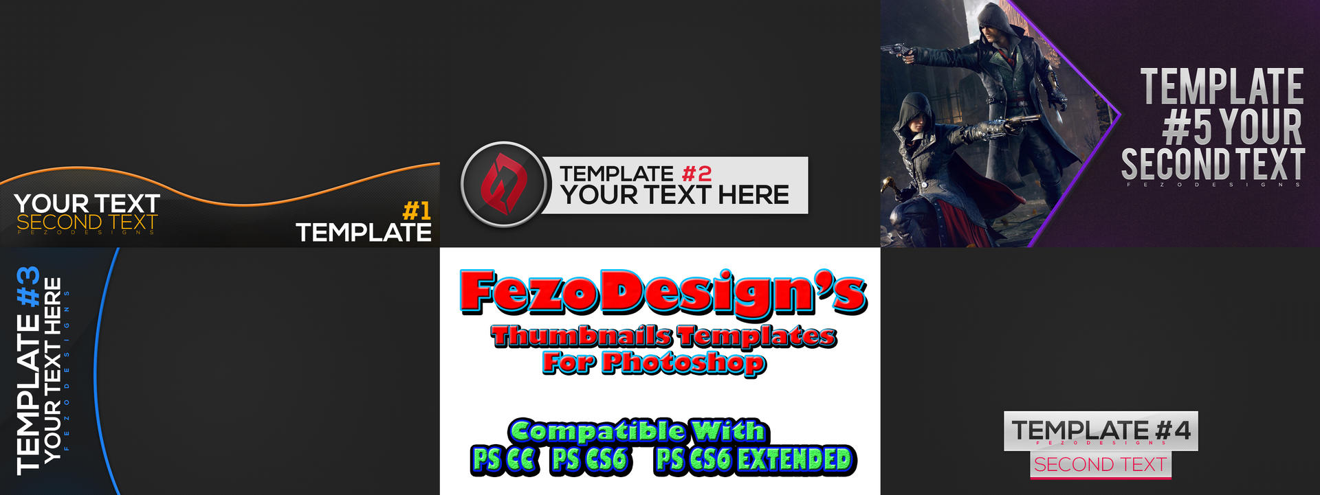 FezoDesign's Thumbnails Templates (Download Now) by MaxPesky