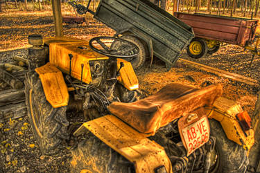 Mesones old truck by acwar