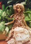 Yvette in garden