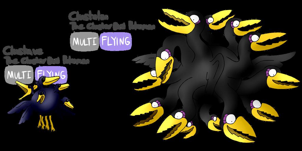 Pokemon In Space Clustave Family 607482771