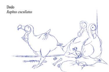 Bestiary - Dodo (WIP)