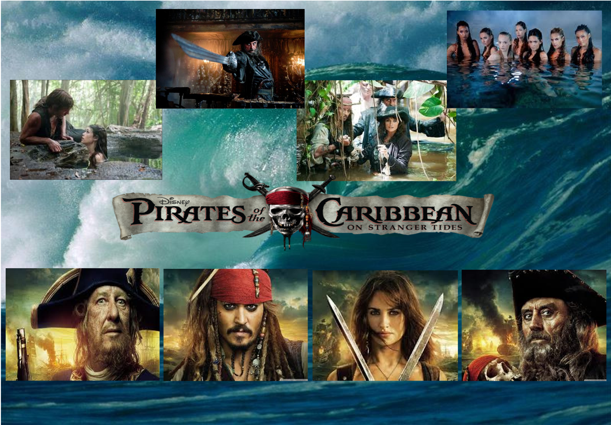 pirates of the caribbean 4 wallpaperlilmeglett on deviantart