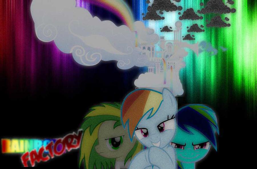 Rainbow Factory by DarkLunaBlackstar