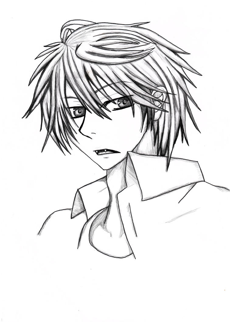 Male Vampire Anime Drawing | www.imgkid.com - The Image ...