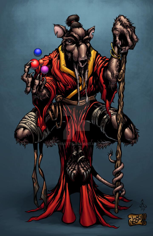 Master Splinter by Jasonbatts