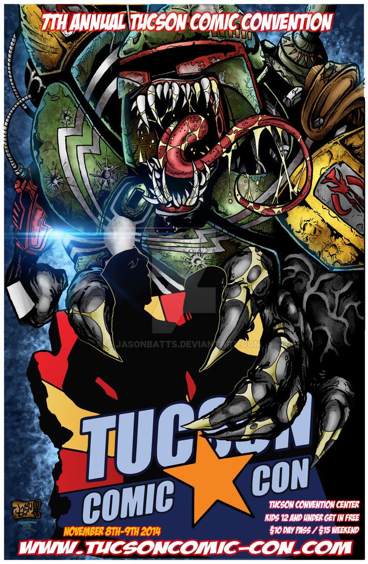 Tucson Comic Con Poster 2014 by Jasonbatts