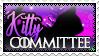 Kitty Committee Stamp by Astralskye