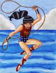 Wonder Girl Commission