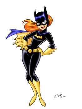 Batgirl Doodle 2 (Colored)