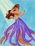 Octo-Mermaid Commission