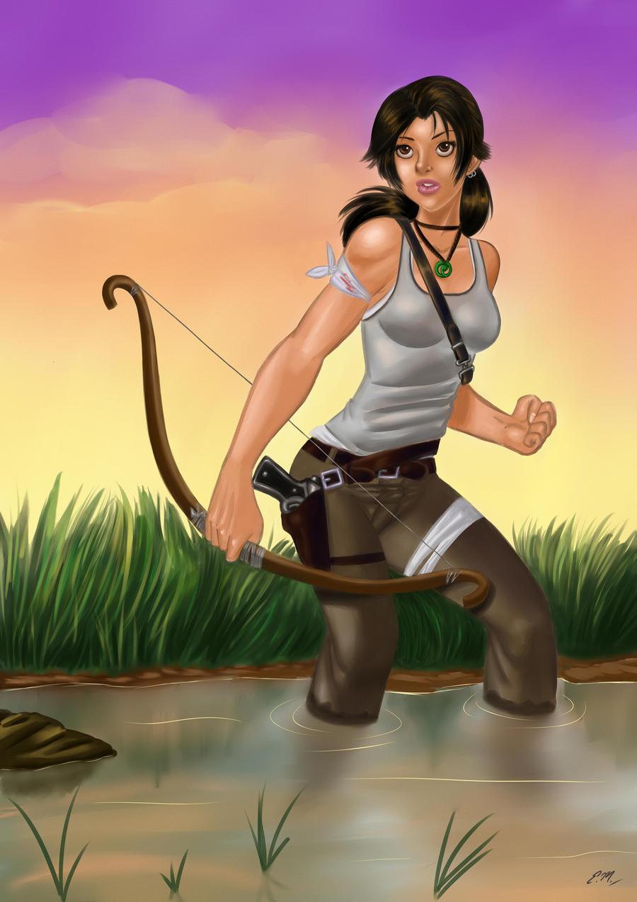 Lara Reborn by em-scribbles