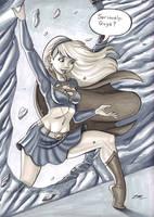 Girl of Steel by em-scribbles