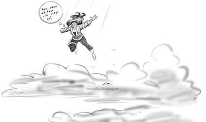 Roxy Rocket Sketch by em-scribbles
