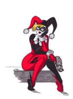Harley Marker Sketch by em-scribbles