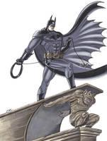 Batman Commission by em-scribbles