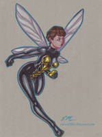 Wasp by em-scribbles