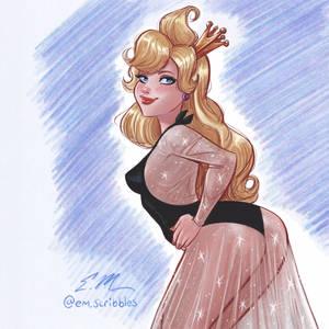 Princess Daphne Painting