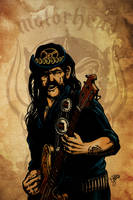 Lemmy Kilmister is God! by christiano-bill