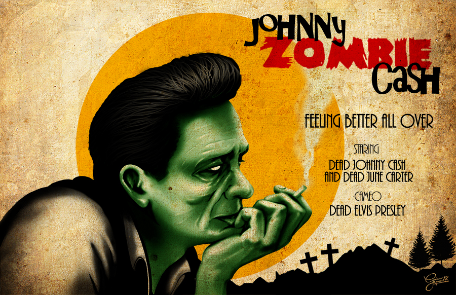 Johnny Zombie Cash by christiano-bill