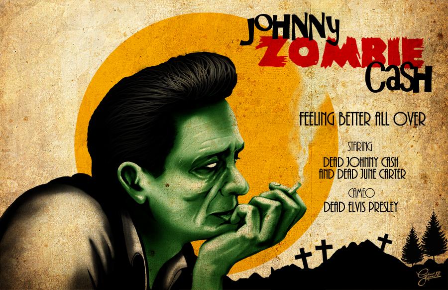 Johnny Zombie Cash By Christiano Bill On Deviantart