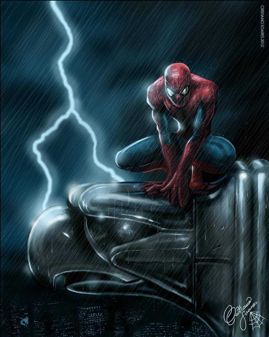 Spider Man and Gargoyle