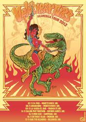 Velociraptors - Sulamerica Tour by christiano-bill