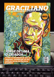 Revista Graciliano - Capa Jorge de Lima
