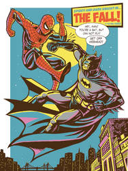 Spider vs Batman - C2E2  Expo 2014