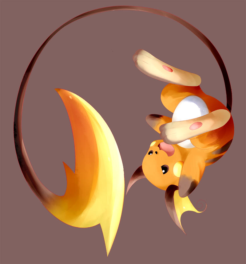 raichu by syansyan on DeviantArt