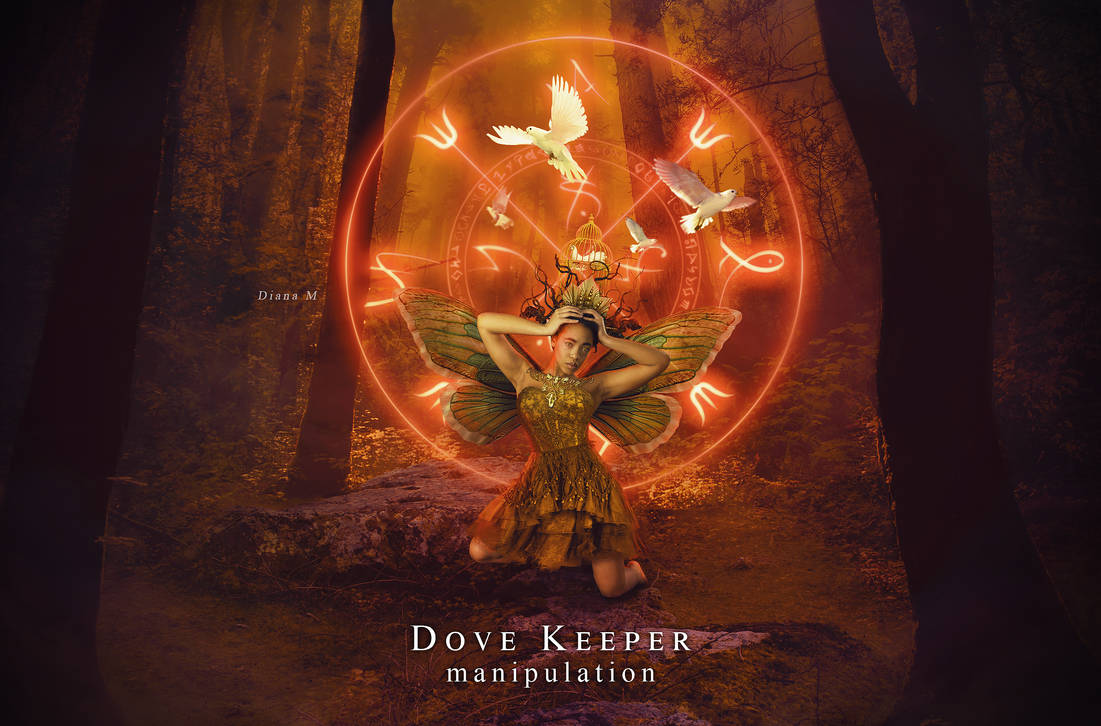 Dove Keeper - PHOTOMANIPULATION