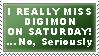 I Miss Digimon Stamp by TheSnowDrifter