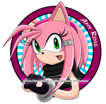 Amy Rose Button