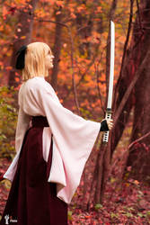 Okita Souji Fate Grand Order 2 by TheSnowDrifter