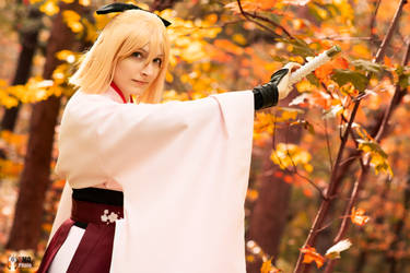 Okita Souji Fate Grand Order 4 by TheSnowDrifter