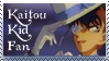 Kaitou Kid Fan Stamp by TheSnowDrifter