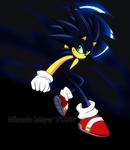 Dark Sonic The Hedgehog