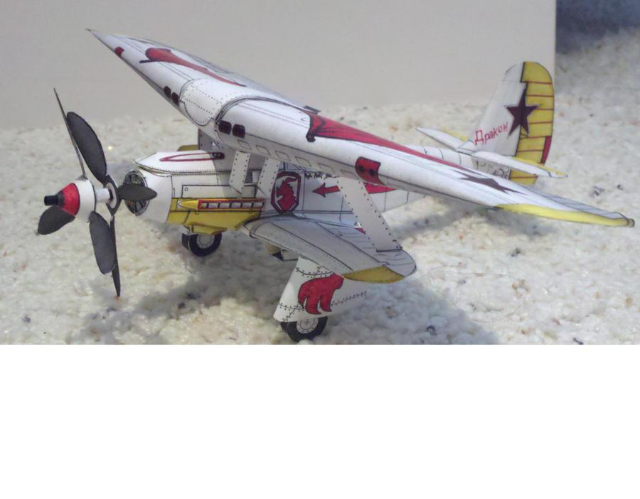Russian Dragon Biplane by Panzer-13