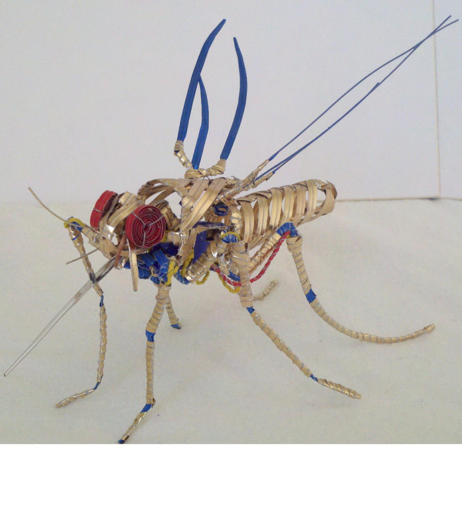 Gold Mosquito by Panzer-13