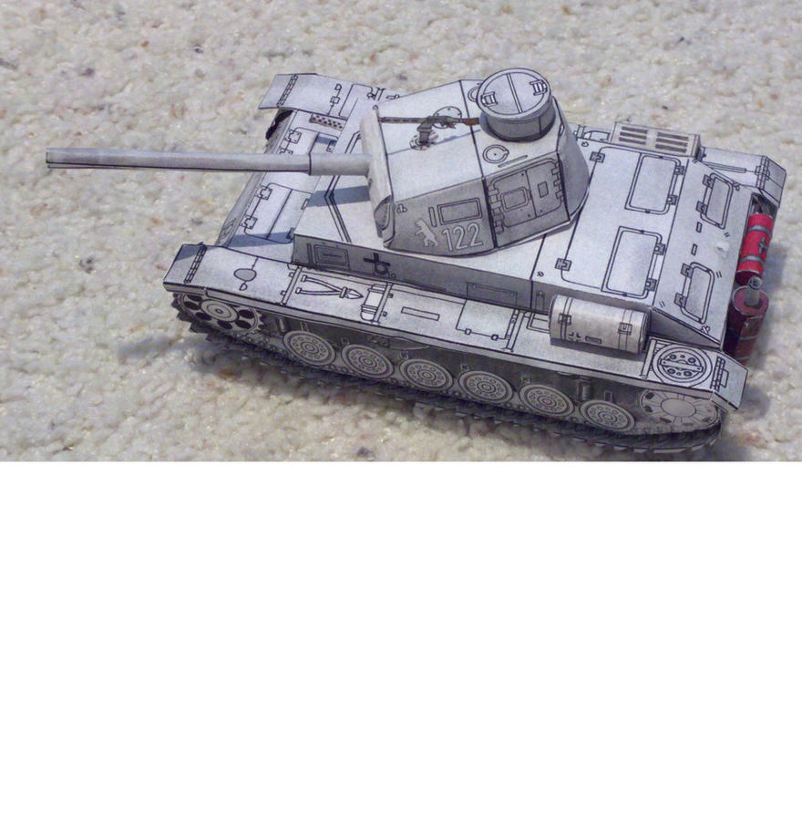 Paper Panzer by Panzer-13