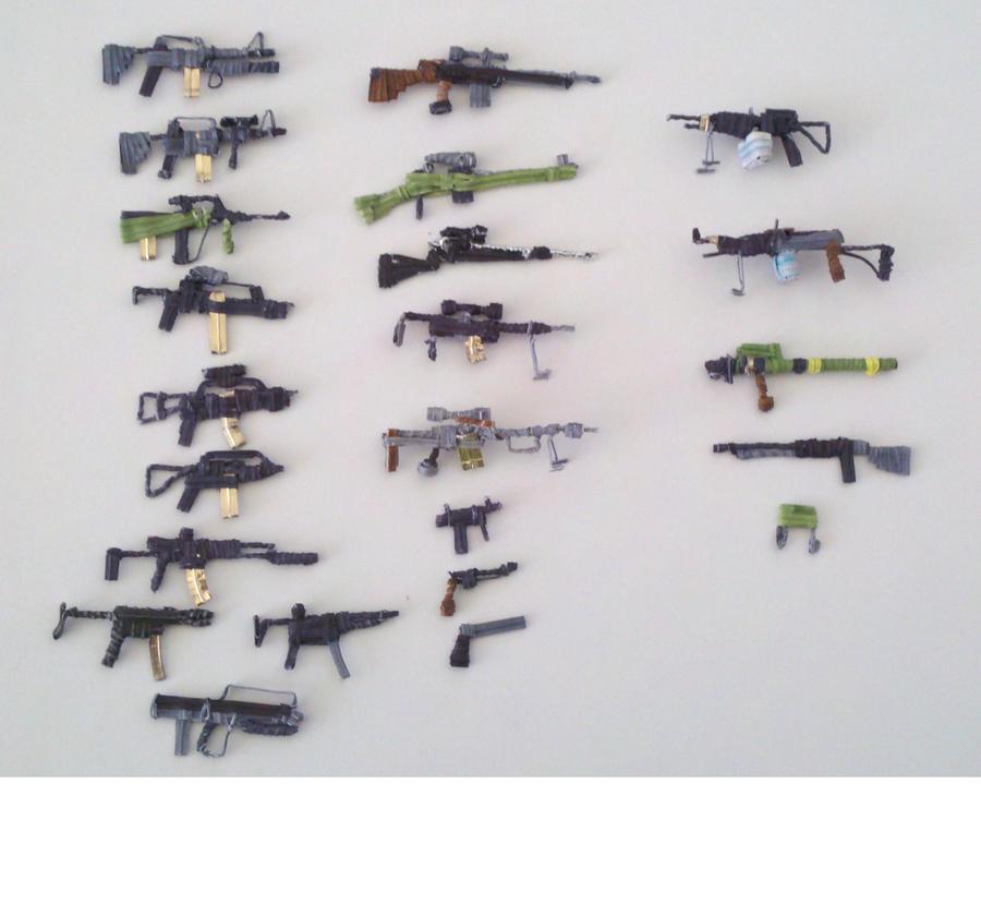 Modern warfare weapons by Panzer-13