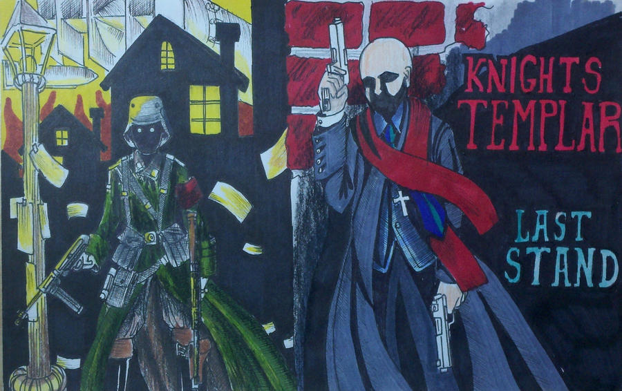 Templar Knights, last stand by Panzer-13