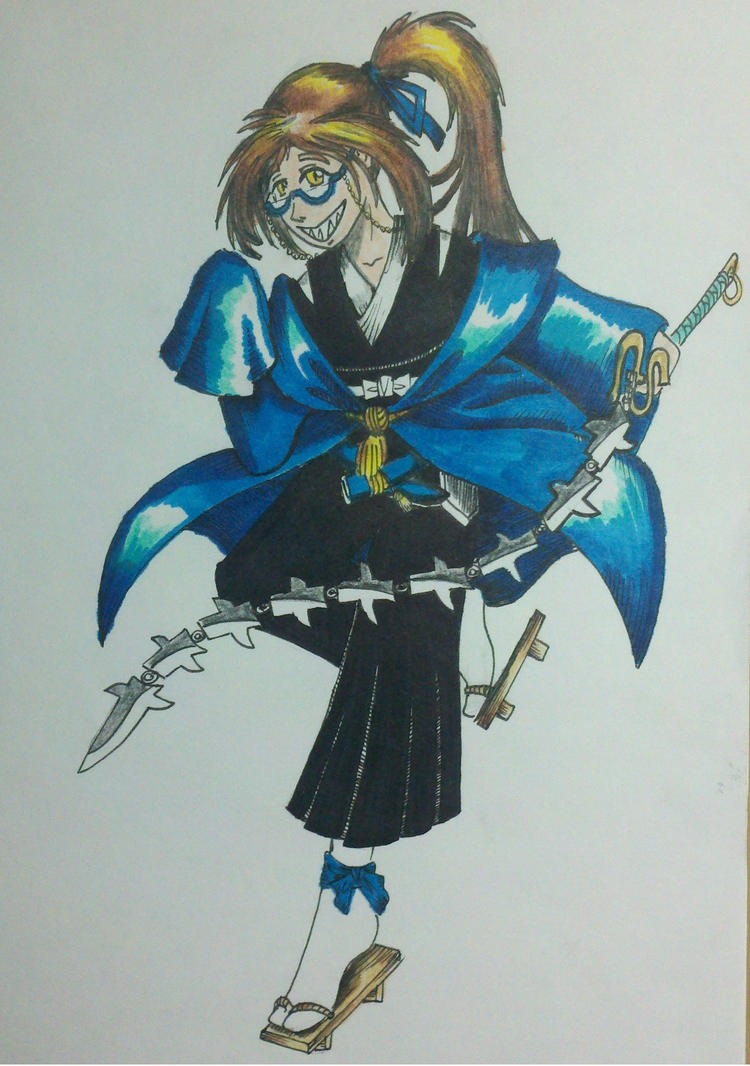 Blue Shinigami by Panzer-13