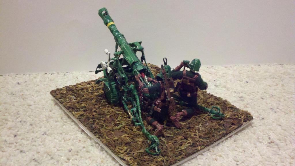 Artillery diorama view 2 by Panzer-13
