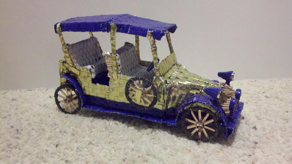 Vintage Car model view 1 by Panzer-13