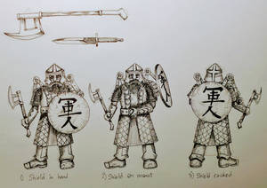 Dawa Armor Study retractable shield