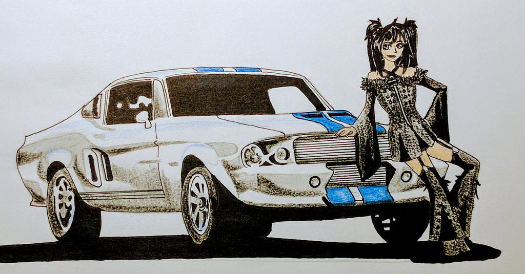 American Muscle posing by Panzer-13