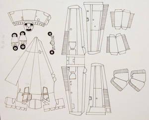 Piper H-tail model design